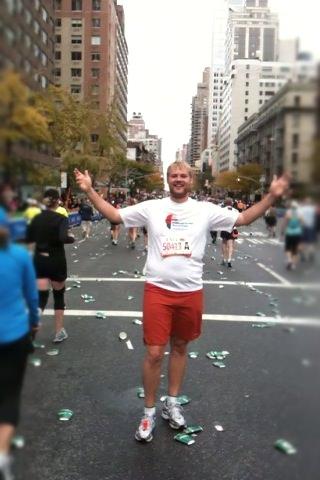 Andrew Hyde NYC Marathon